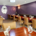 Private function room available for larger groups or parties/functions