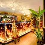 Genting Thai Restaurant Bar offering a wide range of non-alcoholic beverages as well as a selection of red, white and sparkling wines and Singha Thai Beer