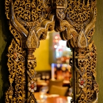 Dine in the authentically decorated Genting Thai Restaurant
