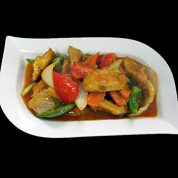 16A Crispy Chicken in Siam Sauce - A famous Malaysian sauce, savoury with a hint of chilli.