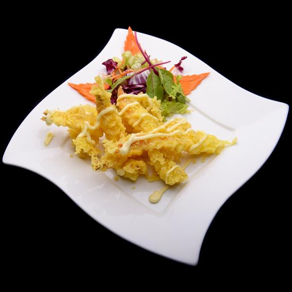 Tempura Prawn with wasabi mayonnaise