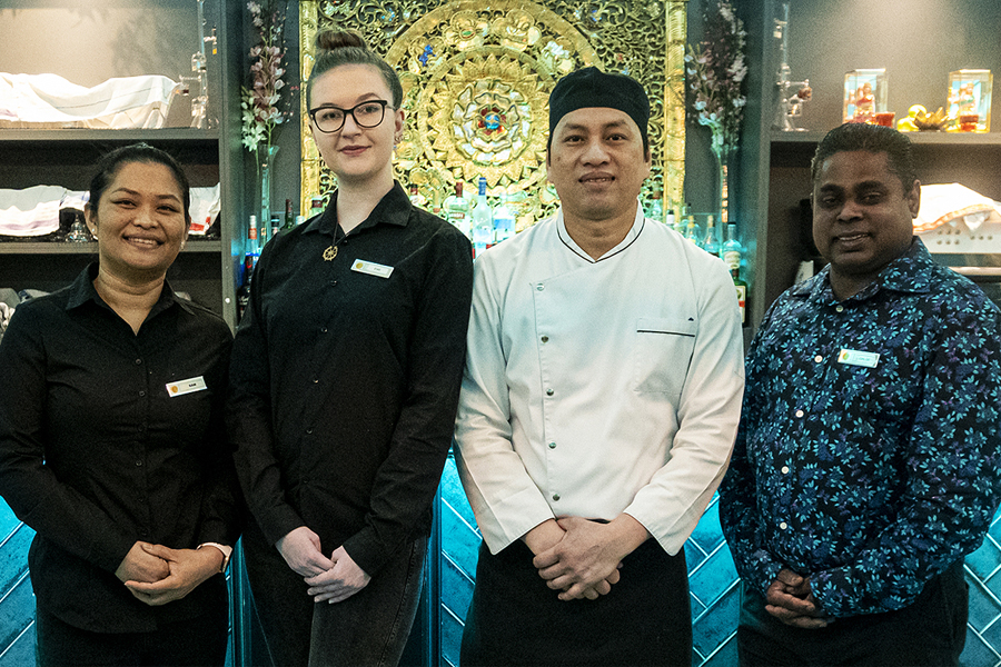 The Genting Thai Restaurant Killarney prides itself on its experienced staff